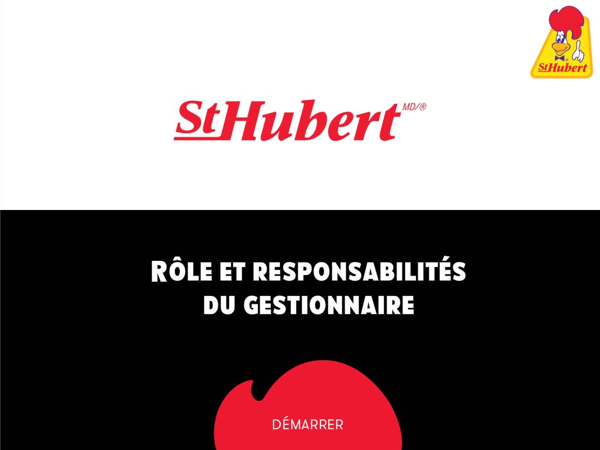 formation en ligne pour St-Hubert - Étude de cas